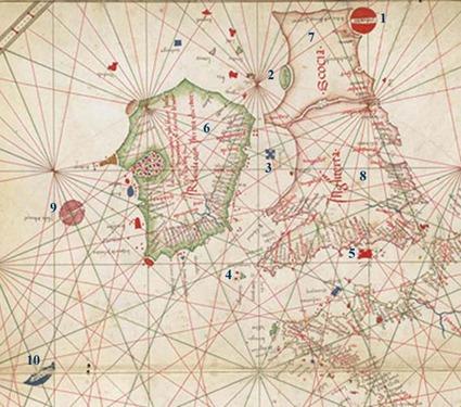 Hy-Brasil-1489-Map